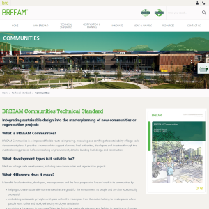 BREEAM Communities